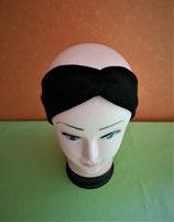 Stirnband schwarz KU 52/53cm