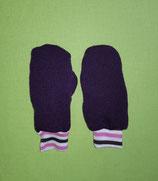 Handschuhe lila/rosa-lila gestreift Gr. 0