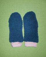 Handschuhe Fleece grün/rosa lang Gr. 2
