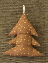Weihnachtliches Bäumchen braun Sterne