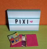 Pixibuchhülle Kleider/pink