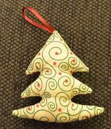 Weihnachtliches Bäumchen grün-rot