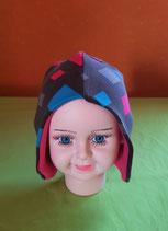 Ohrenmütze Routen/pink KU 44/46