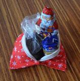 """Weihnachts-Beutelchen """"Flocke"""" rot"""