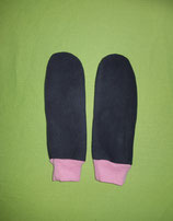 Handschuhe grau/rosa lang Gr. 3