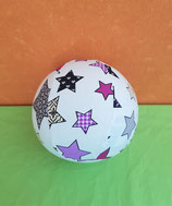 Luftballonhülle Sterne/lila