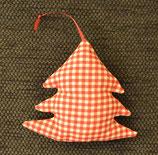 Weihnachtliches Bäumchen rot kariert