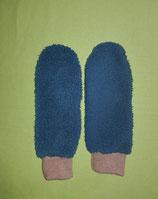 Handschuhe grün/hellbraun lang Gr. 2