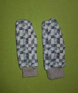 Handschuhe Dreiecke grau/grau melliert Gr. 2