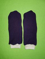 Handschuhe Strick lila/rosa lang Gr. 4