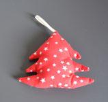 Weihnachtliches Bäumchen rot/weiß Sterne