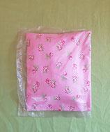 Dinkelkissen Rosen/rosa mit Hülle