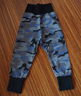 Mitwachshose Camouflage blau Gr. 98/104