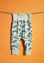 Pumphose Camouflage/grau Gr. 74/80