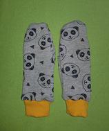 Handschuhe Panda/gelb lang Gr. 2