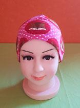 Beanie short Fuchs/pink KU 46/48