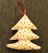 Weihnachtliches Bäumchen gestreift Sterne