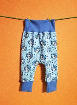 Pumphose Einhorn blau/blau Gr. 74/80