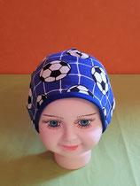 Beanie short Fußball-blau/blau KU 43/45
