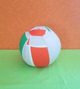 Luftballonhülle grün/orange/grau