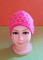 Beanie short Anker/pink KU 46/48