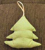 Weihnachtliches Bäumchen grün kariert