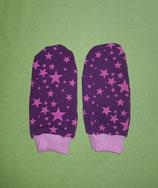 Handschuhe Sterne pink-lila/rosa lang Gr. 2