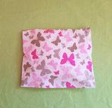 Kirschkernkissen Schmetterlinge/rosa mit Hülle