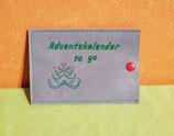 Adventskalender to go Hülle Weihnachtsbaum