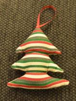 Weihnachtliches Bäumchen gestreift