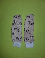 Handschuhe Panda/hellblau lang Gr. 3