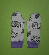 Handschuhe Cool/lila lang Gr. 0