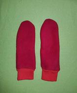 Handschuhe rot/rot lang Gr. 3