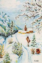 """Motiv """"Wanderung im Schnee"""""""