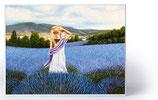 "Motiv ""Lavendelfeld"""