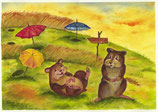 """Poster """"Die Hamster"""""""