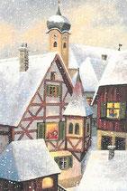 """Motiv """"Schneedächer"""" AU2013"""