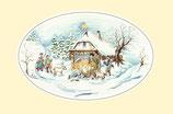 """Motiv """"Krippe im Weihnachtswald"""""""