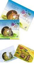 """Set Kinderbuch und Puzzle """"Mathilda und Hannibal."""" im Set mit einem Poster"""