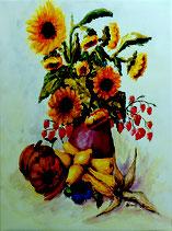"""Kunstdruck """"Herbstliches Stillleben"""""""