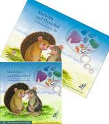 """Set Kinderbuch, Puzzle und Memo-Compact Spiel """"Mathilda und Hannibal."""""""