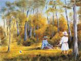 """Motiv """"Picknick im Park"""""""
