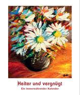 """Kalender Jahrbuch """"Heiter und vergnügt"""""""
