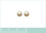 Boucles d'oreilles perle imitation