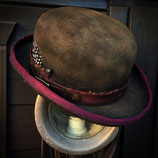 Old Dusty Bowler Hat