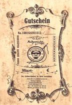 Gutschein 1€