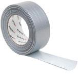 Gewebeband Textilverstärkt silber 50mmx50m