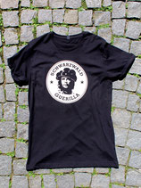 schwarzes unisex T-Shirt mit Logo 3.0