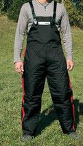 Schutzhose schwarz/rot