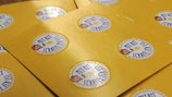 """100 x kleine RIT Sticker """"Mit RIT schaffe ich es"""" (2 cm Durchmesser)"""